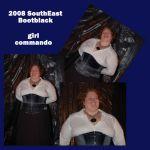 Girl Commando/Andy: SouthEast Bootblack